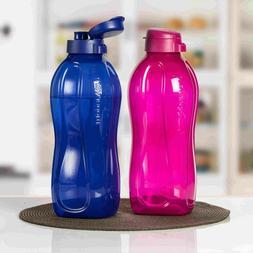 Tupperware Aquasafe Fliptop Water Bottle 2000ml  As Per Avai