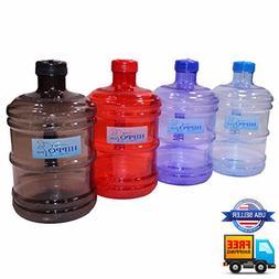 3.8L One Gallon 128 OZ BPA Free Water Bottle Sport Gym Train