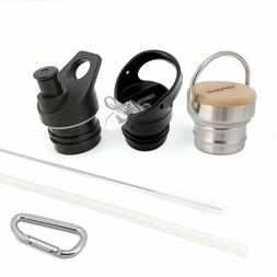 3 Pack Lids Bundle for Hydro Flask Standard Mouth Water Bott