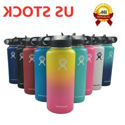 32/40oz Hydro Flask Sport Water Bottle Wide Mouth Stainless