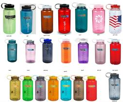 Nalgene 32 oz 32oz Wide Mouth wm Water Bottle various colors