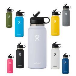 Hydro Flask 32 Oz Water Bottle Wide Mouth | Straw Lid 2.0 Bo
