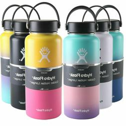 32oz Flask Insulated Hydro Water Bottle Gradient Colors bicy