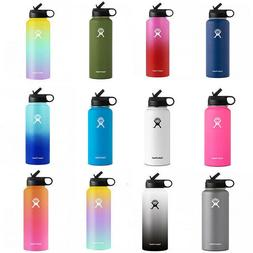 32oz Flask Insulated Hydro Water Bottle Gradient Colors 40oz