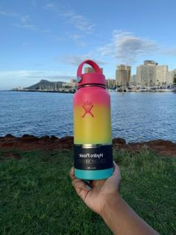 Hydro Flask 32oz Hawaiian Rainbow limited edition water bott
