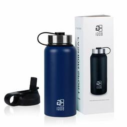 BOGI 32oz Insulated Water Bottle Double Wall Vacuum Stainles