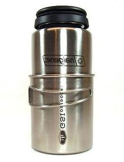 Nalgene 32oz. Stainless Steel Survival Backpacker Bottle w/G