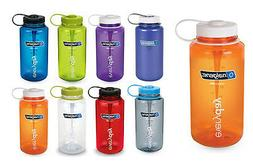 Nalgene 32oz Wide Mouth BpA Free Plastic Tritan Sports Water