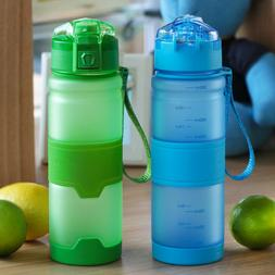 380/500MLLeakproof Sports Fitness & Gym Water Bottle Running