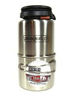 Nalgene 38oz. Stainless Steel Survival Standard Bottle w/GSI