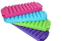 4 Ice Rolls Making Trays with Covers - Makes Perfect Ice Cub