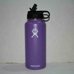 40 oz Hydro Flask Stainless Steel Water Bottle Straw Lid Dri