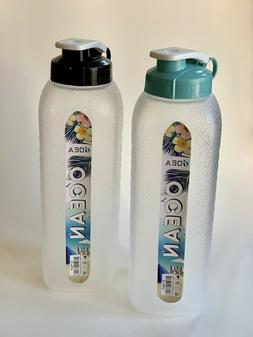 ODEA 40 oz Water Bottles Hydration Tracking Scratch Proof BP