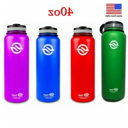 40oz Double Wall Vacuum Insulated Stainless Steel Thermos Wa