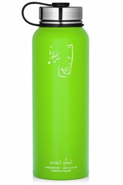 SWIG SAVVY 40oz Water Bottles Stainless Steel - Vacuum Insul