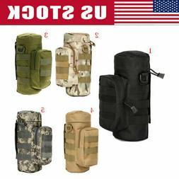 5 Colors Tactical Military Outdoor Water Bottle Bag Zipper P