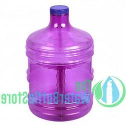 5 Liter 1.3 Gallon BpA Free Large Reusable Water Bottle Big
