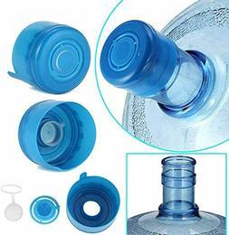 5 pcs Water Bottle Caps Gallon Snap On Cap Reusable Lid Drin