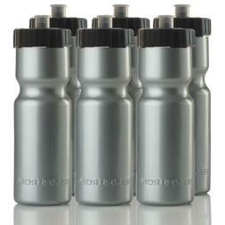 50 Strong Sports Squeeze Water Bottle Team Pack – Set of 6