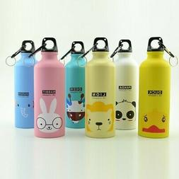 500ml Child Kids Outdoor Camping Sports Bottle Cute Animal C