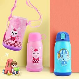 500ml Children Insulation Stainless Steel Vacuum Cup Light K