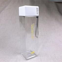 500ml Portable Bottle Leak-proof Clear Drinking Bottle Campi