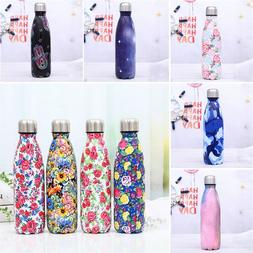 500ML Stainless Steel Cute Printed <font><b>Water</b></font>