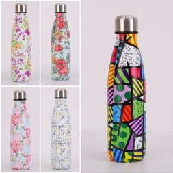 500ml Stainless Steel Water Bottle <font><b>Insulated</b></f