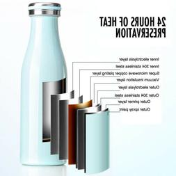 500ml Thermos Double Wall Vacuum Flask Stainless Steel Therm