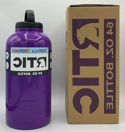 RTIC 64 oz PURPLE Stainless Steel Water Bottle