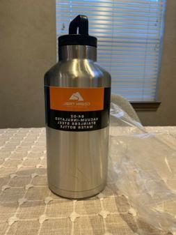 Ozark Trail 64oz Double Wall Stainless Steel Water Bottle Gr