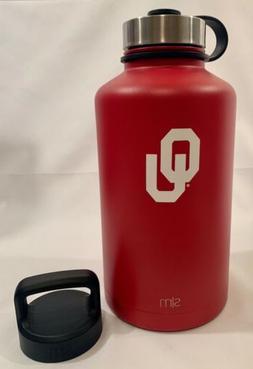 Simple Modern 64oz Summit Water Bottle - Oklahoma Sooners Va