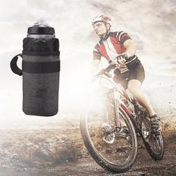 750ml Bicycle Heat Preservation Cooling Water Bottle Bag Cas