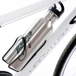 Bike Water Bottle Portable Sport Cycling Camping Bicycle Bot