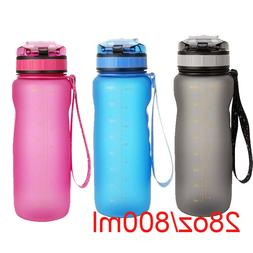 800ML BPA Free Leak Proof Outdoor Sports Water Bottle Tour H