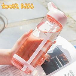 850ml plastic water bottle sport shaker