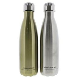 Godinger 8741 Silver Stainless Steel Hot/Cold Water Bottle S