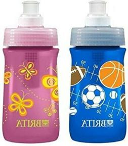 Brita Soft Squeeze Water Filter Bottle For Kids Variety 2 Pa
