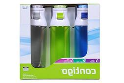 Contigo 24oz Jackson Water Bottles, 3 Pack