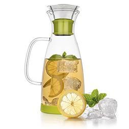 Tealyra - Glass Carafe - 40-ounce - Drip-free - Borosilicate