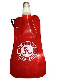 Alabama Crimson Tide Boelter Brands Red Foldable Water Bottl