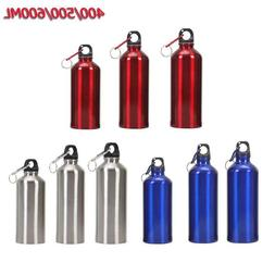 Aluminum Bike Water Bottle Bicycle Cycling Mountain Outdoor