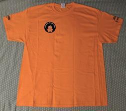 Amazon Orange XL Tee Shirt New NASC Turns 5 & Water Bottle L