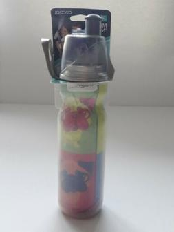 O2Cool ArcticSqueeze Insulated Mist 'N Sip  Squeeze Bottle -