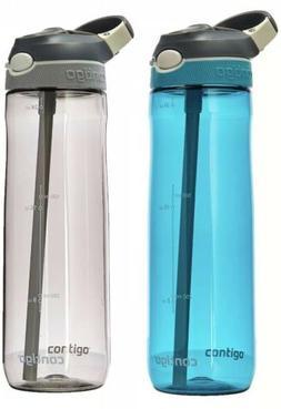 Contigo Ashland Autospout 24oz Travel Water Bottle SmokeGray
