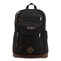 Authentic JanSport Wanderer Backpack, Black JS0A2SDE008 18.7