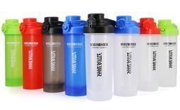 AUTO FLIP Lid Shaker Bottle Blender for Protein Powder Smoot