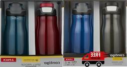 Contigo AUTOSEAL 32 oz.Leak-Proof Water Bottle, 2 Pack Assor