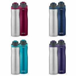 Contigo AUTOSEAL Chill Stainless Steel Water Bottles 24oz 2-