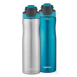 Contigo AUTOSEAL Chill Stainless Steel Water Bottles, 24 oz,